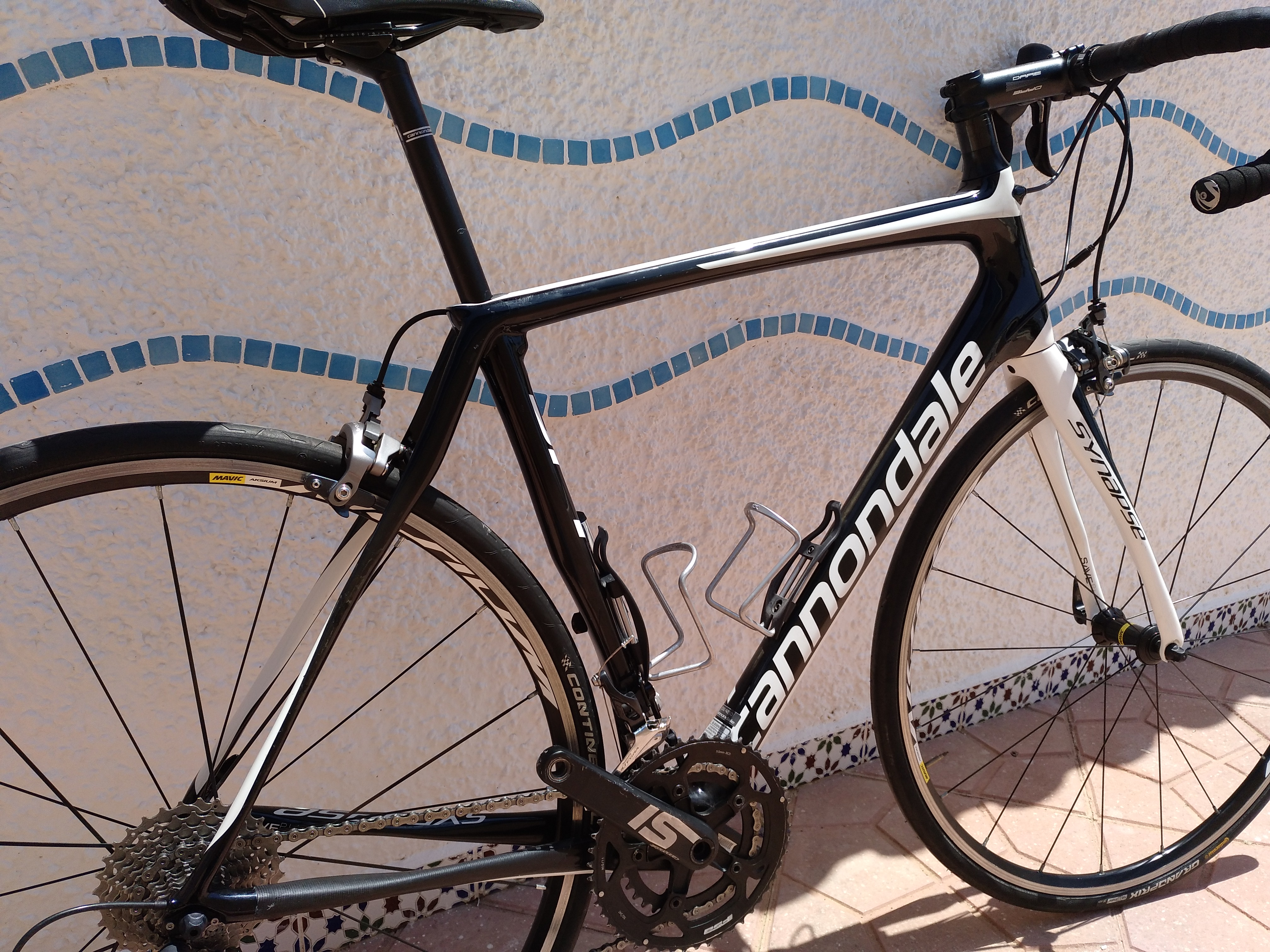 Used Cannondale Synapse Carbon Ultegra.